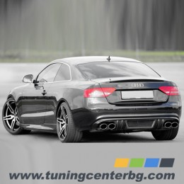 ЗАДЕН ДИФУЗЬОР ЗА AUDI A5 COUPE / CABRIO /2007 г. - 2011 г./