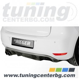 ЗАДЕН ДИФУЗЬОР ЗА VW GOLF 6 Rieger Tuning
