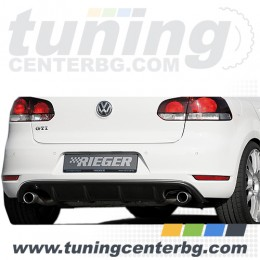ЗАДЕН ДИФУЗЬОР ЗА VW GOLF 6 /GTI DESIGN/ Rieger Tuning